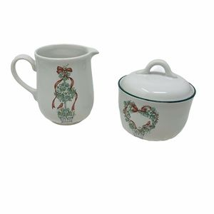 CORELLE CORNING Callaway Holiday Ivy Sugar creamer